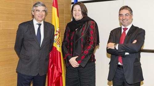 Abertis receives Violeta Bulc, European Commissioner for Transport