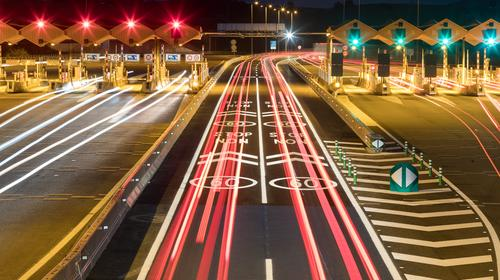 Autopistas opens the first free flow toll system in Spain in the AP-7