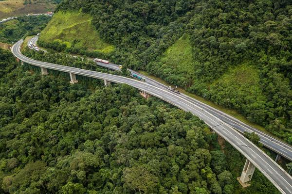 Abertis' subsidiary in Brazil concludes the project to double capacity on the Régis Bittencourt toll road