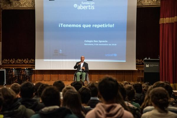 The Abertis Foundation launches the road education program 'We have to repeat it'