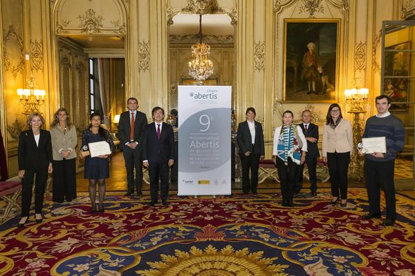 The Abertis Chairs present the Abertis Awards for Infrastructure and Road Safety in France and Brazil
