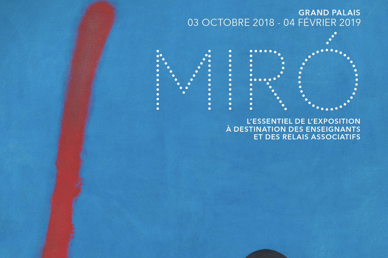 Abertis, through Sanef, sponsors the great exhibition of Miro in Paris' Grand Palais
