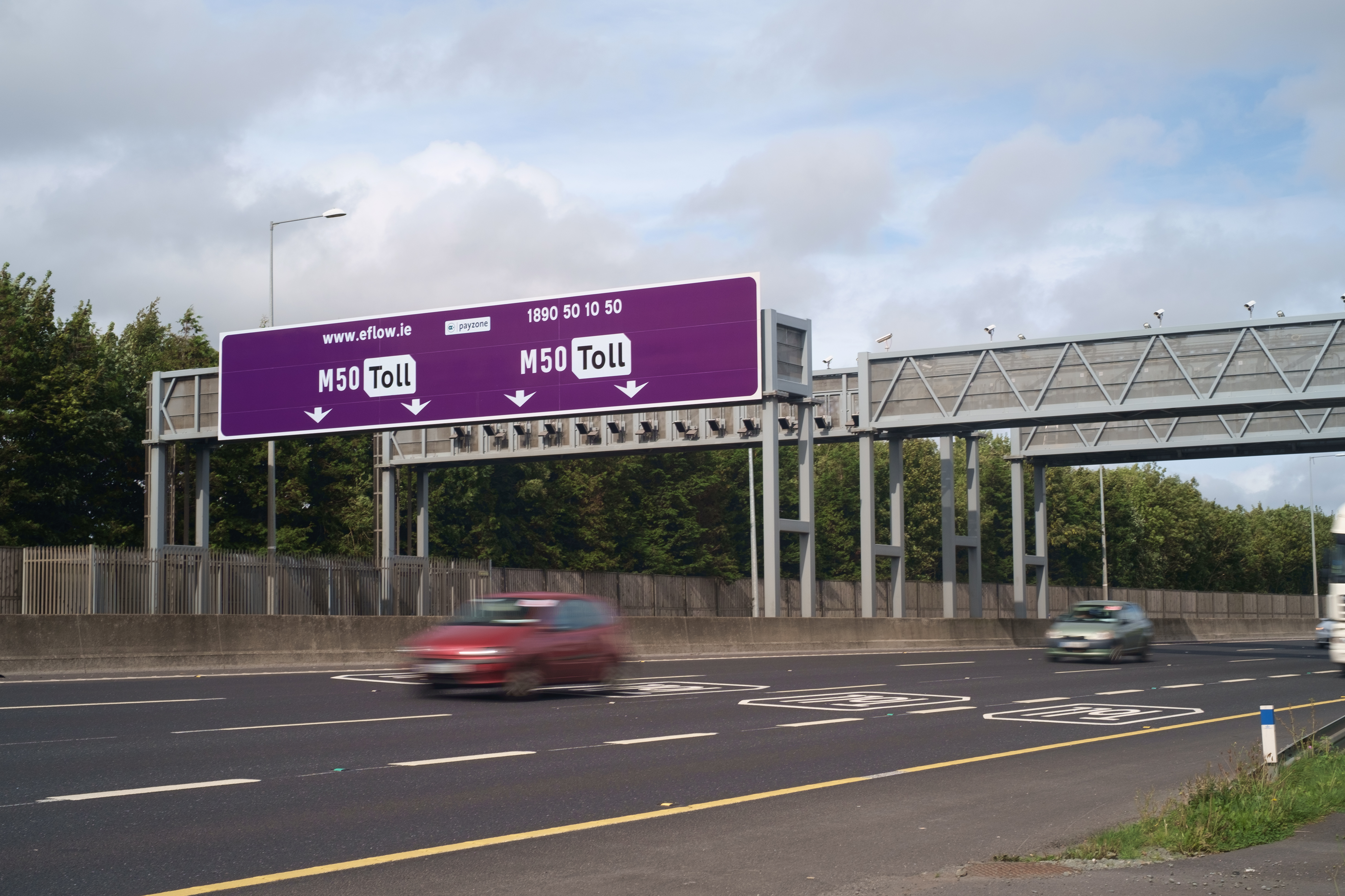 Emovis signs a two-year extension for operation of Dublin's Western Ring-Road (M50 toll road)