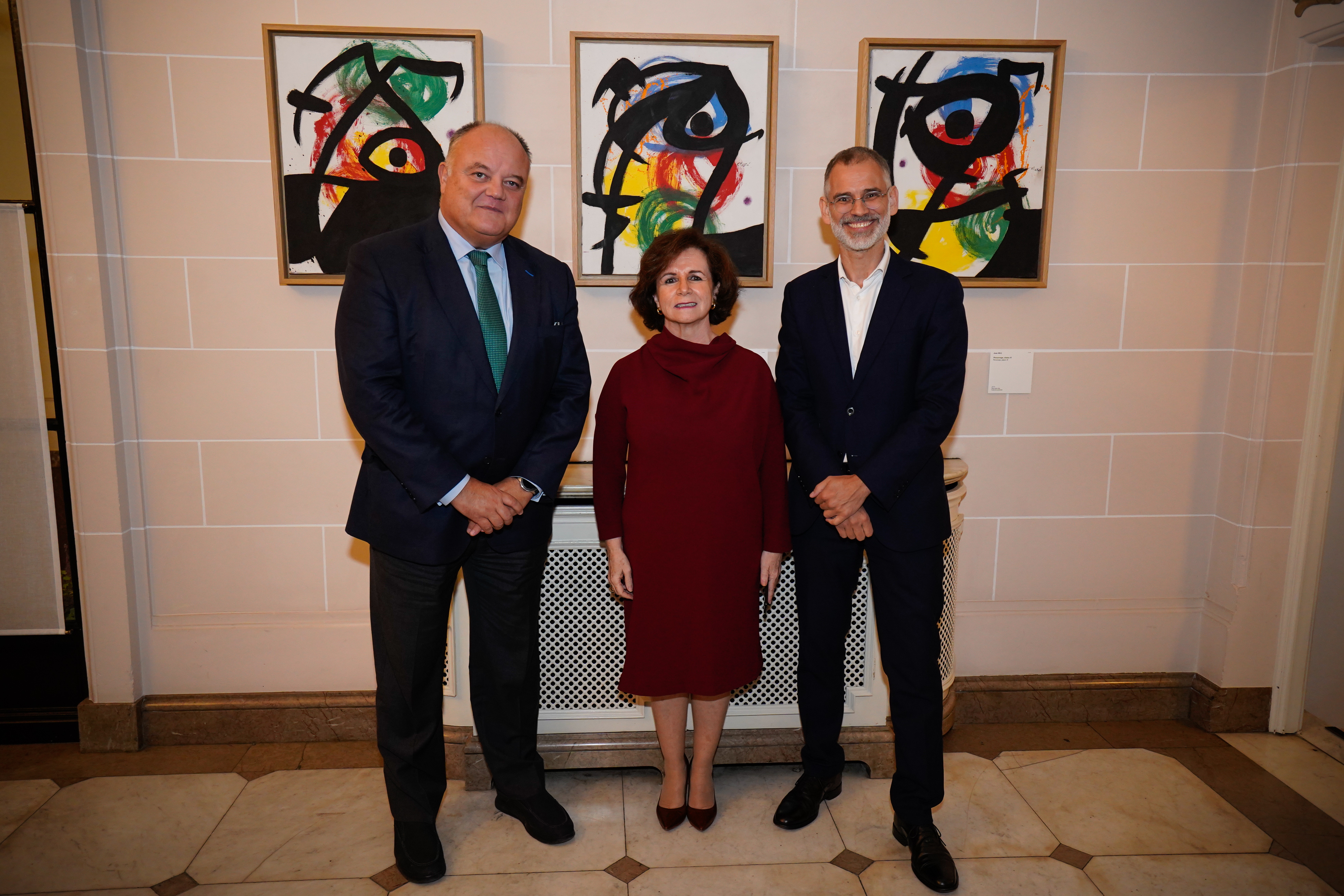 The traveling exhibition of Miró organized by the Abertis Foundation, the Fundació Joan Miró and the Ministry of Foreign Affairs, arrives in Brussels (Belgium)
