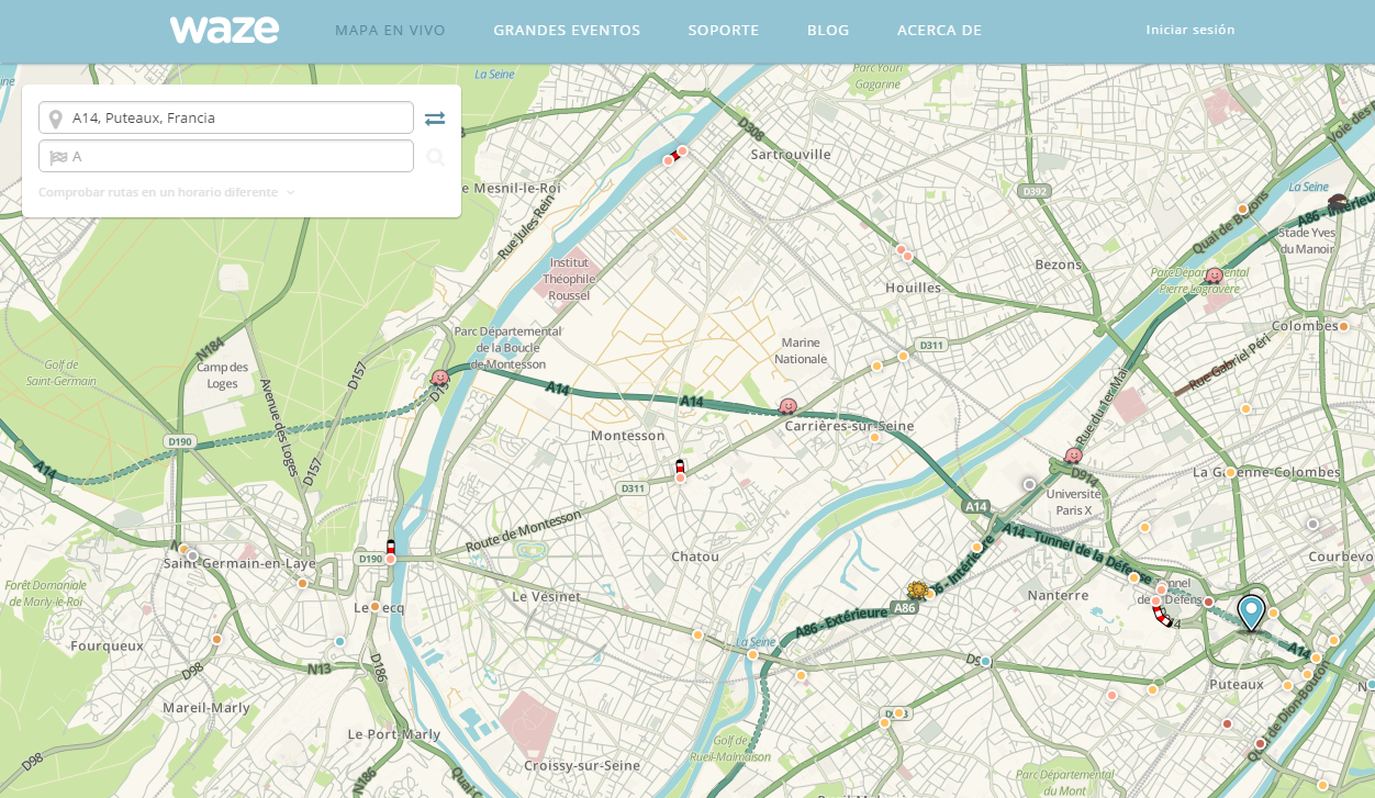 Sanef and the application Waze have joined forces to improve traffic information in real time