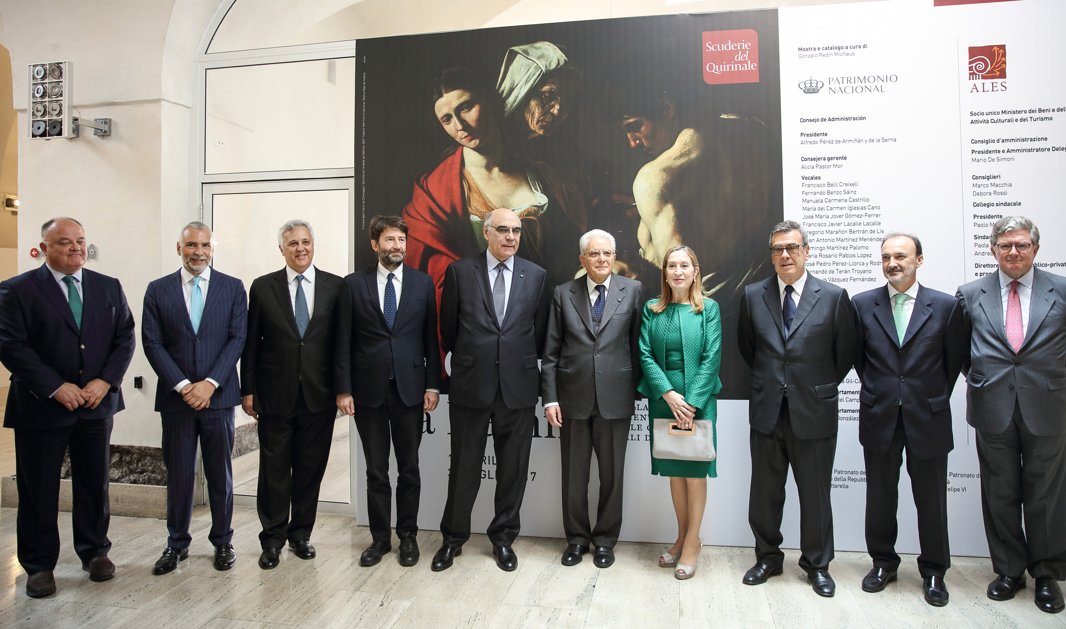 "Abertis, through its Italian subsidiary A4 Holding, sponsors the exhibition ""From Caravaggio to Bernini"" at the Scuderie del Quirinale Museum"