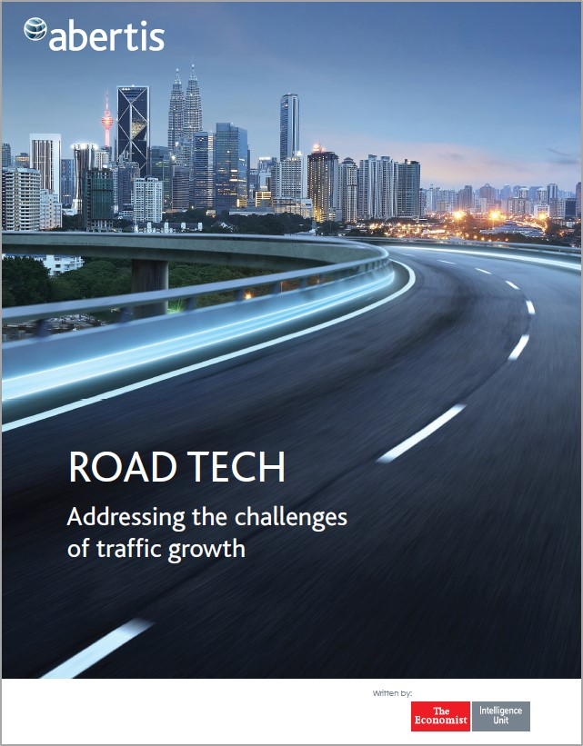 New report by the Economist Intelligence Unit, commissioned by Abertis: Road Tech key to tackling challenges of global traffic growth