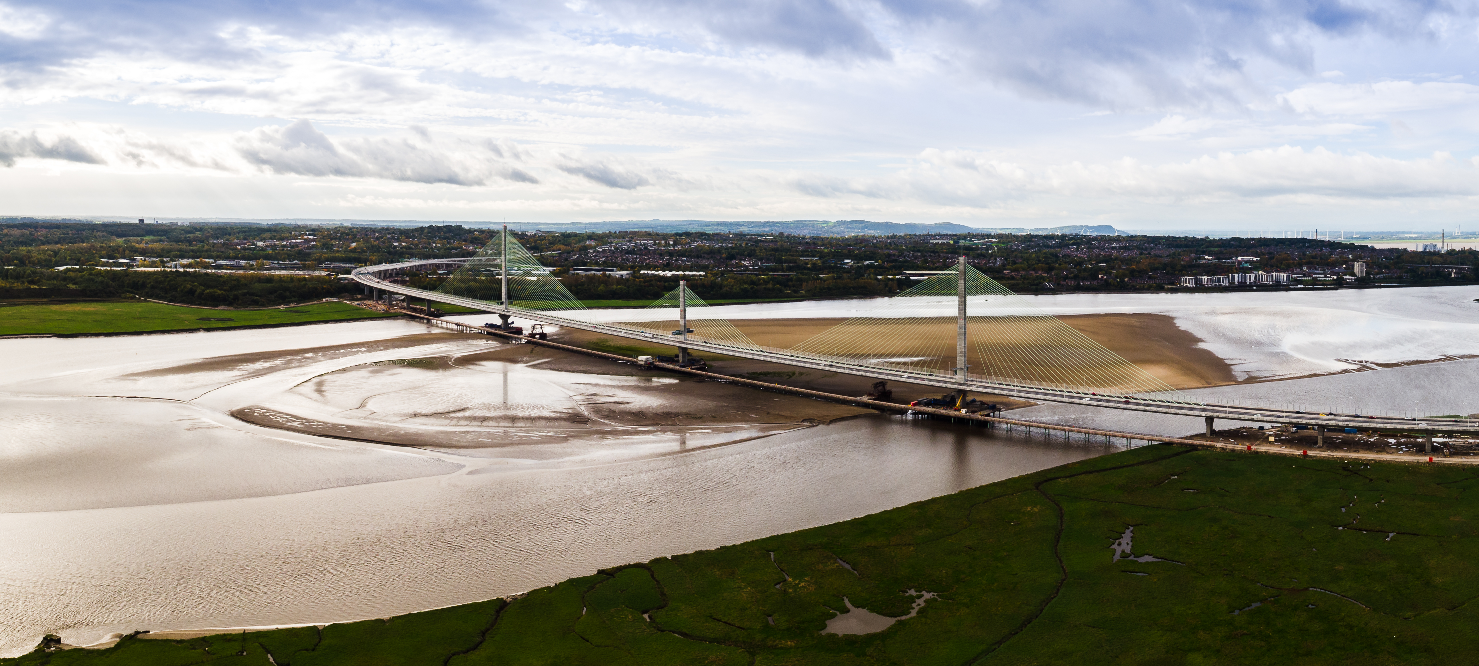 Emovis opens the free flow toll of the Mersey Gateway Bridge in the United Kingdom