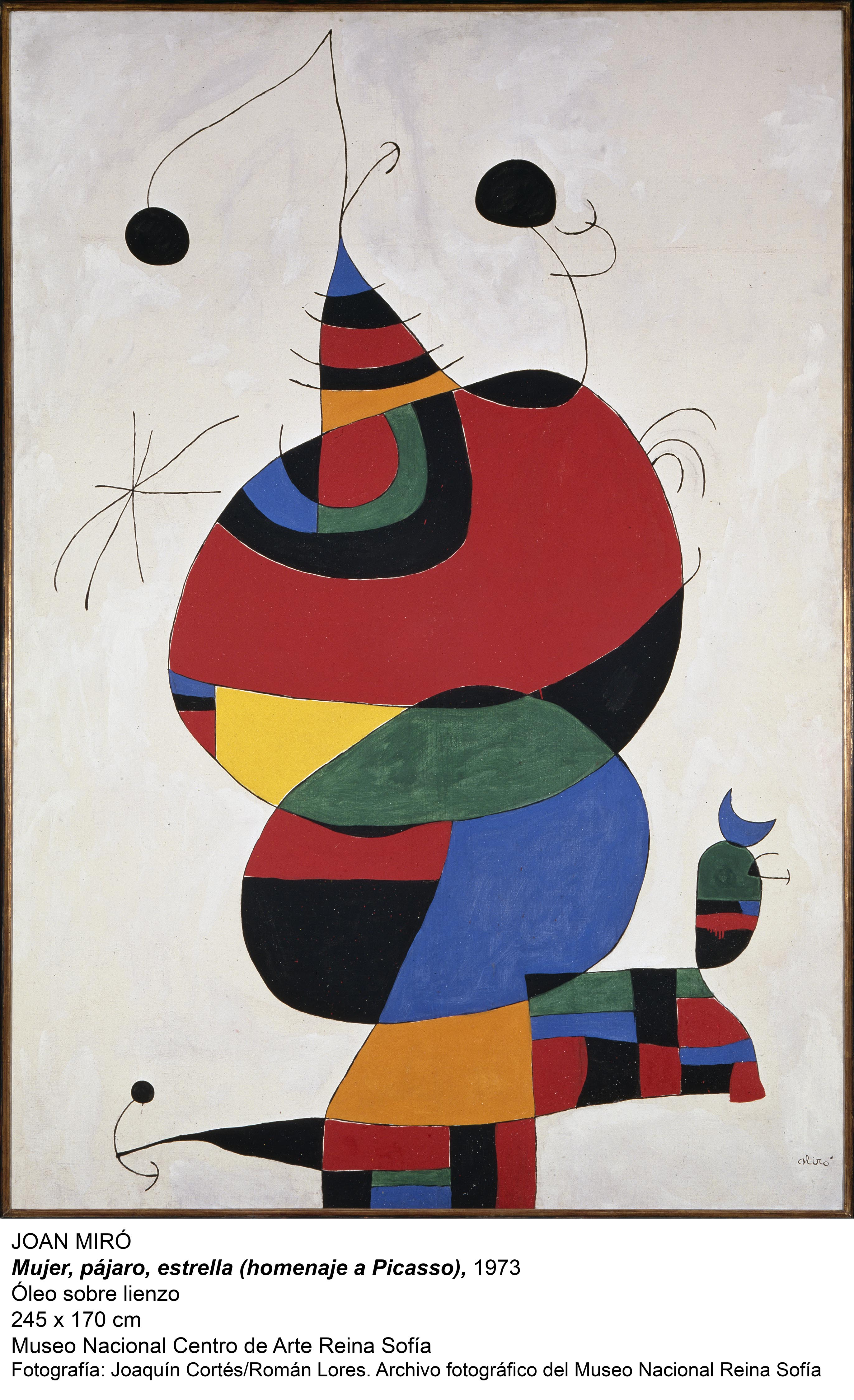 "Abertis, via its subsidiary in Argentina, is bringing Miró to Buenos Aires in an exhibition entitled ""Miró: The experience of looking"""