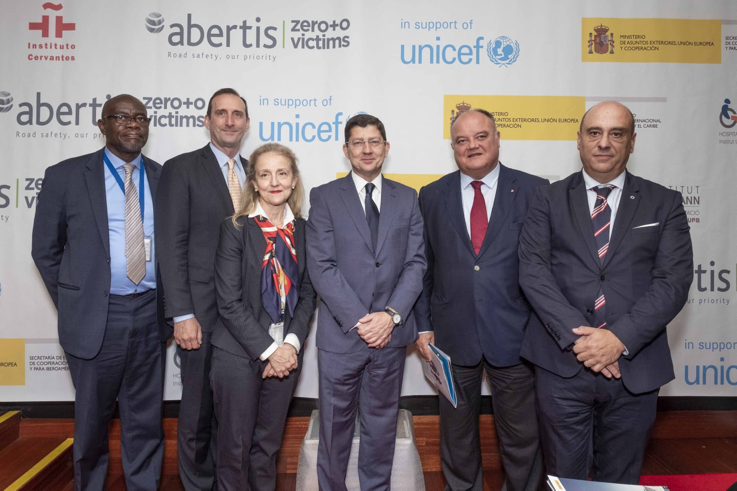 "Abertis and UNICEF present an update on their collaborative ""Rights of Way"" project aimed at preventing road accidents involving children worldwide"