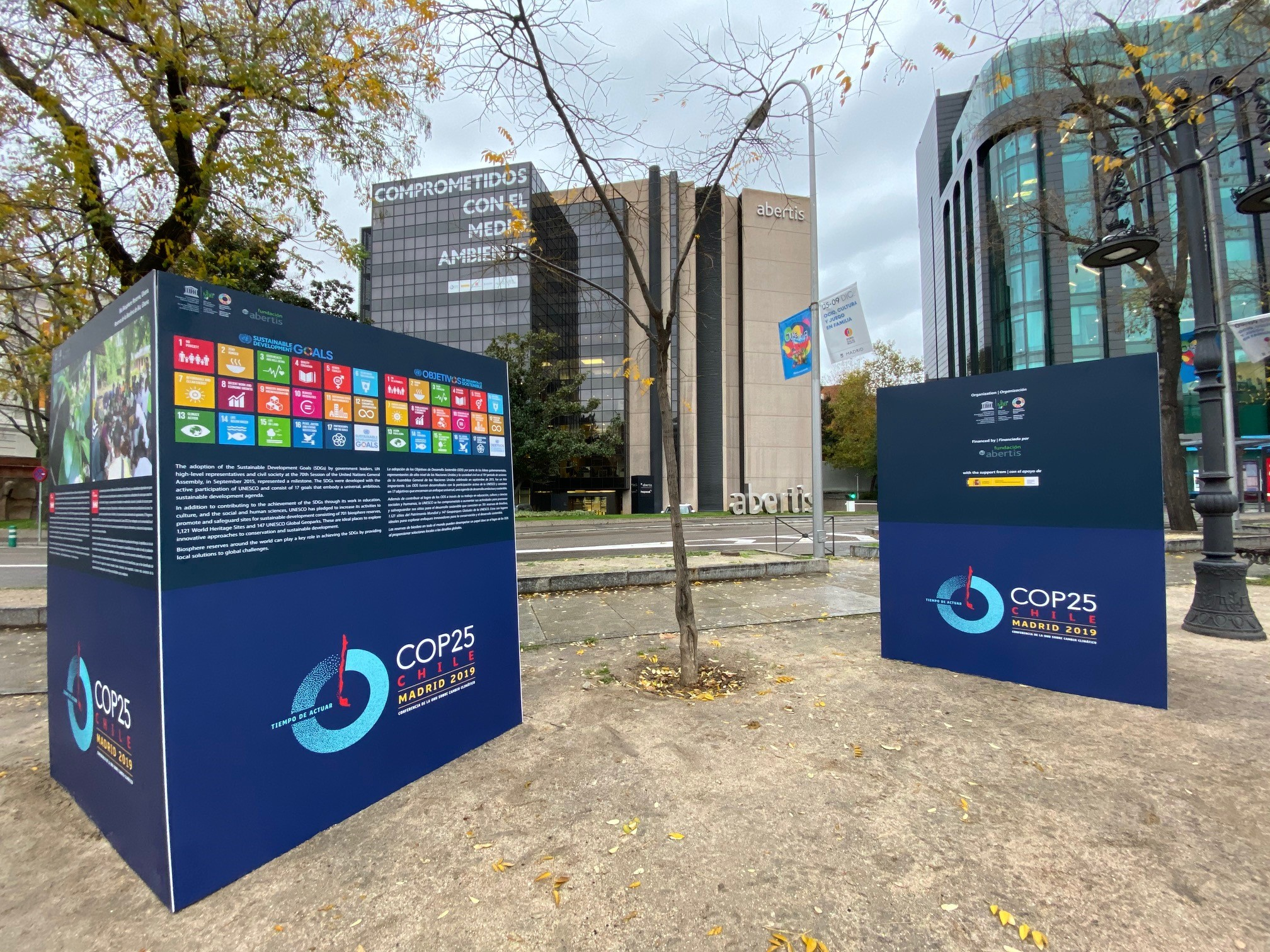 Abertis joins actions against climate emergency during the United Nations Climate Change Conference (COP25)