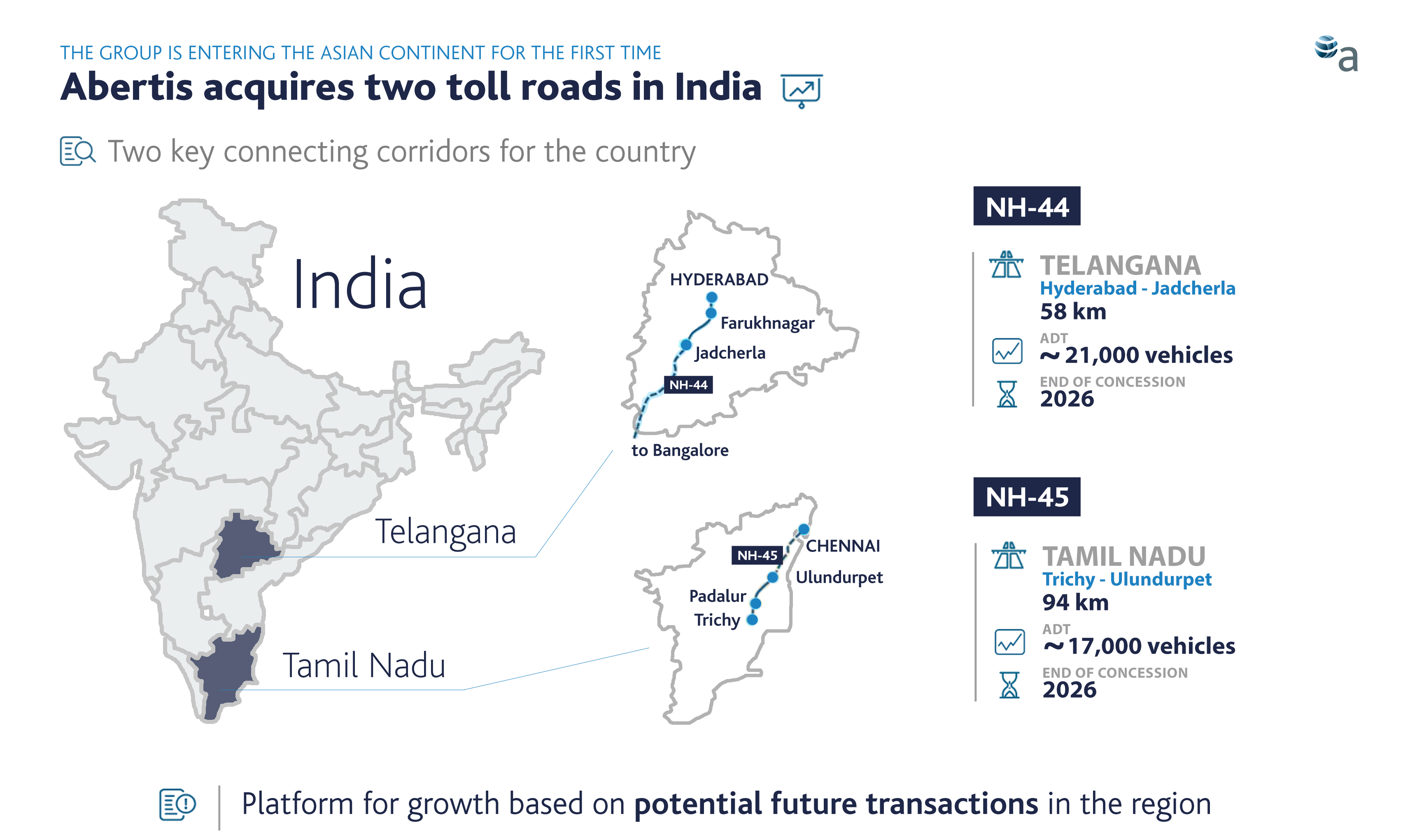 VINCI North America Cofiroute USA Proven Leadership In Toll - Us map with toll roads on it